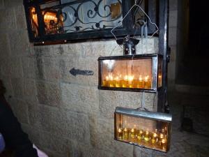 Chanukiah in Jerusalem